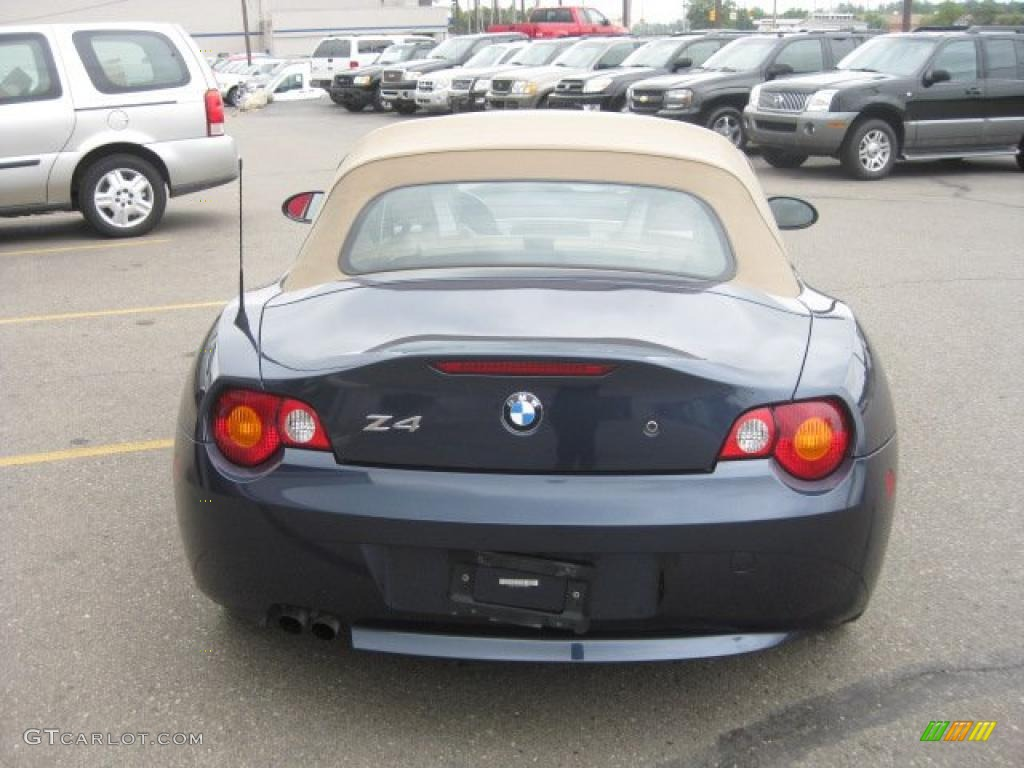 2004 Toledo Blue Metallic Bmw Z4 2 5i Roadster 35177630 Photo 4 Gtcarlot Com Car Color