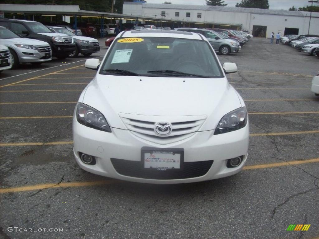 2005 rally white mazda mazda3 s hatchback 35177787 photo. Black Bedroom Furniture Sets. Home Design Ideas