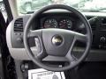 2011 Black Chevrolet Silverado 1500 LS Extended Cab  photo #4