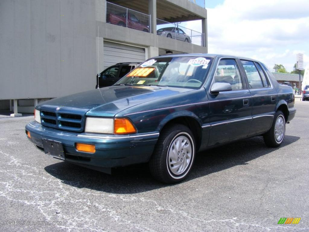 1993 dodge spirit blue