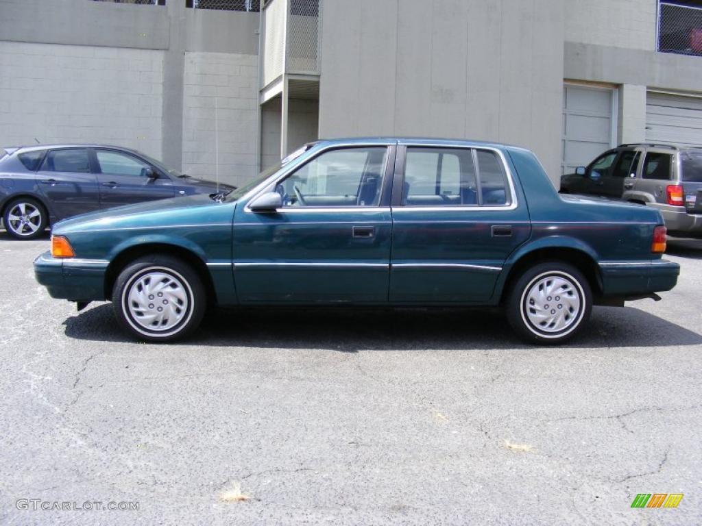 1993 dodge spirit blue