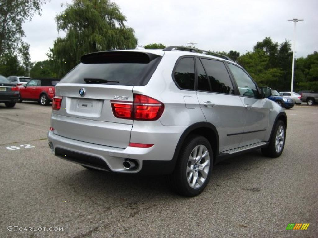 2011 titanium silver metallic bmw x5 xdrive 35i 35177530 photo 5 car color. Black Bedroom Furniture Sets. Home Design Ideas