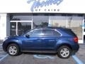 2010 Navy Blue Metallic Chevrolet Equinox LT  photo #1