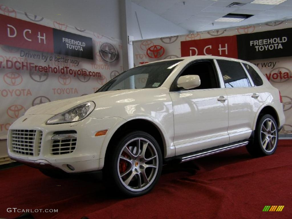 2009 sand white porsche cayenne turbo s 35222573 car color galleries. Black Bedroom Furniture Sets. Home Design Ideas