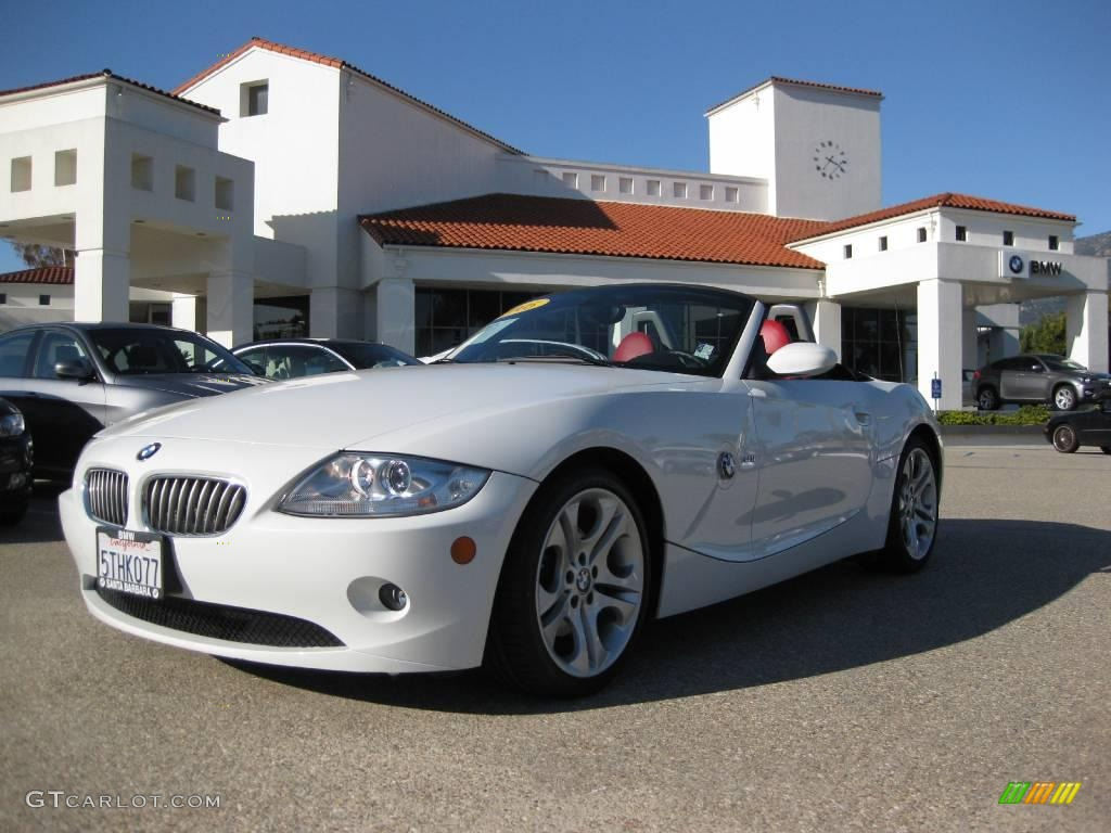 2005 Alpine White Bmw Z4 3 0i Roadster 3516894 Gtcarlot
