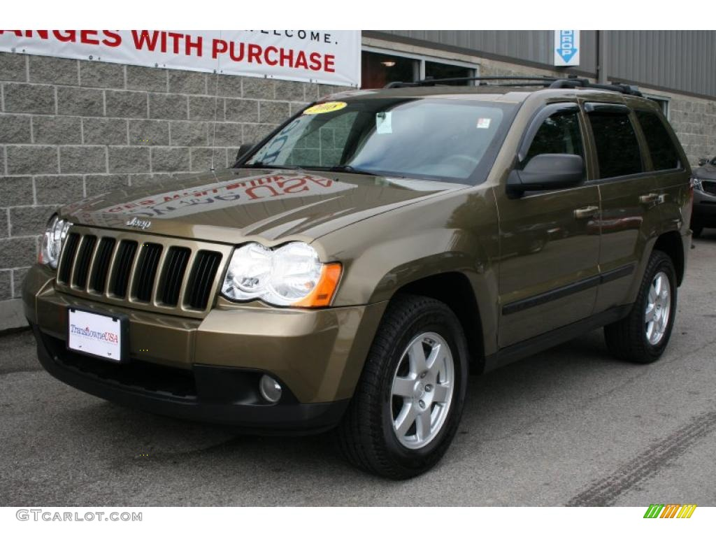 2008 jeep grand cherokee colors