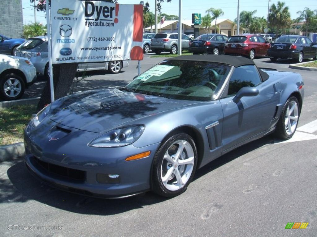 2011 Supersonic Blue Metallic Chevrolet Corvette Grand Sport Convertible 35283127 Gtcarlot