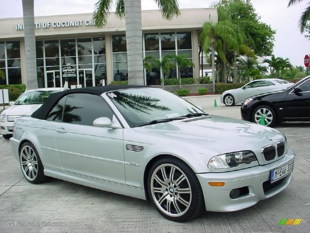 Titanium Silver Metallic BMW M Convertible - 2006 bmw convertible
