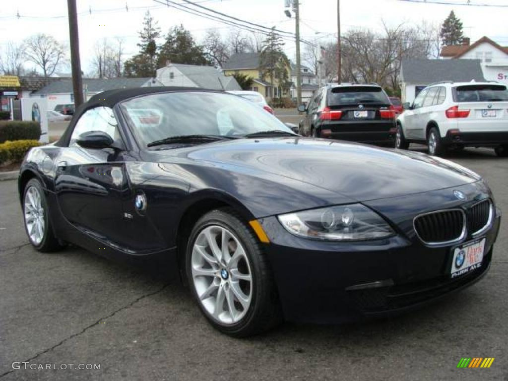 2006 monaco blue metallic bmw z4 roadster 3516488. Black Bedroom Furniture Sets. Home Design Ideas