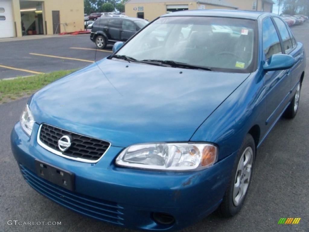 2003 vibrant blue metallic nissan sentra gxe #35283026 | gtcarlot