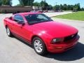 2007 Torch Red Ford Mustang V6 Premium Coupe  photo #26