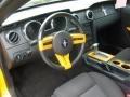2007 Grabber Orange Ford Mustang V6 Deluxe Coupe  photo #11
