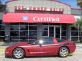 Light Carmine Red Metallic - Corvette Coupe Photo No. 1