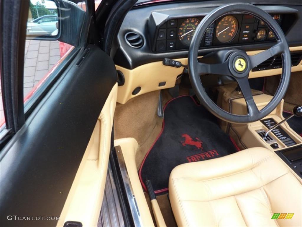 tan interior 1986 ferrari mondial cabriolet photo 35355165. Black Bedroom Furniture Sets. Home Design Ideas