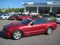 2007 Redfire Metallic Ford Mustang GT Premium Convertible  photo #1