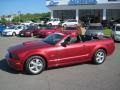 2007 Redfire Metallic Ford Mustang GT Premium Convertible  photo #15