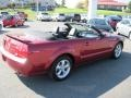 2007 Redfire Metallic Ford Mustang GT Premium Convertible  photo #19