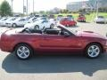 2007 Redfire Metallic Ford Mustang GT Premium Convertible  photo #20