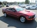 2007 Redfire Metallic Ford Mustang GT Premium Convertible  photo #21
