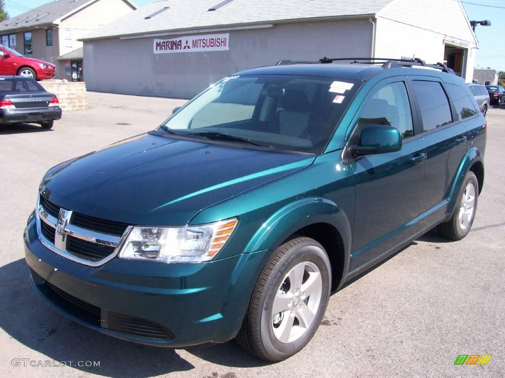 2009 Melbourne Green Pearl Dodge Journey Sxt 3483836