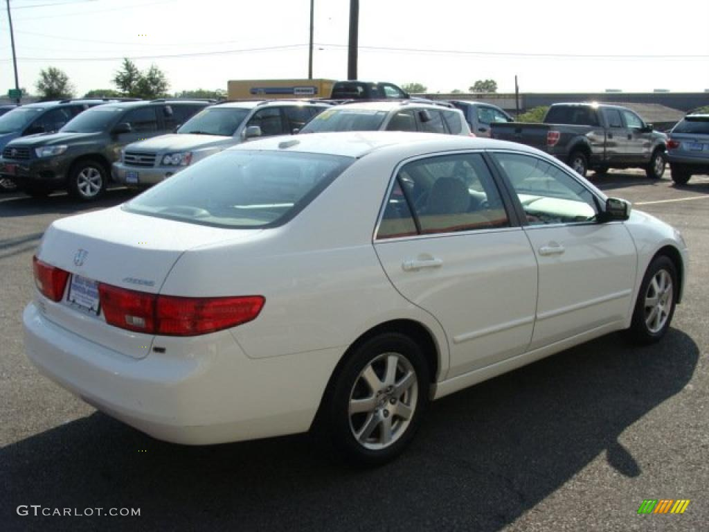 2005 Taffeta White Honda Accord Ex L V6 Sedan 35354091