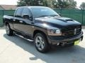 2006 Black Dodge Ram 1500 Night Runner Quad Cab  photo #1