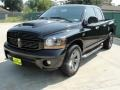 2006 Black Dodge Ram 1500 Night Runner Quad Cab  photo #7