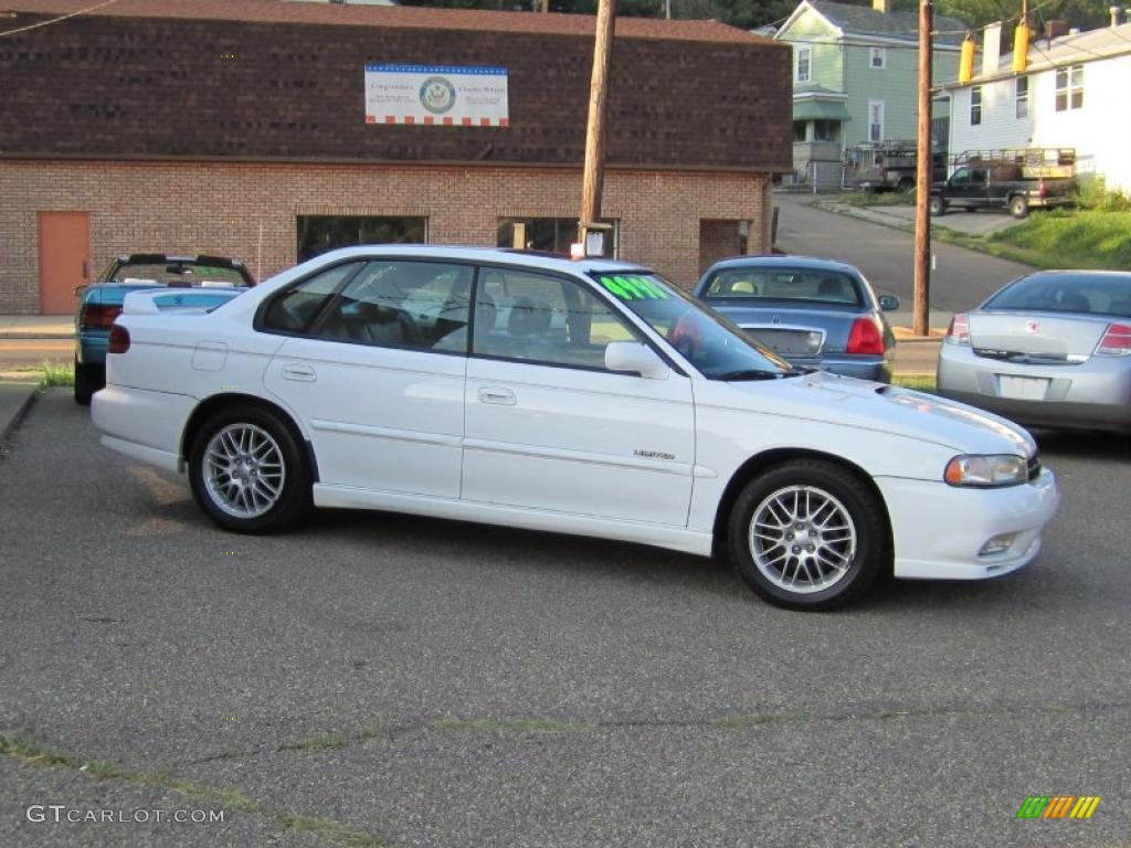 1998 glacier white subaru legacy gt limited sedan 35427760 photo 2 gtcarlot com car color galleries gtcarlot com