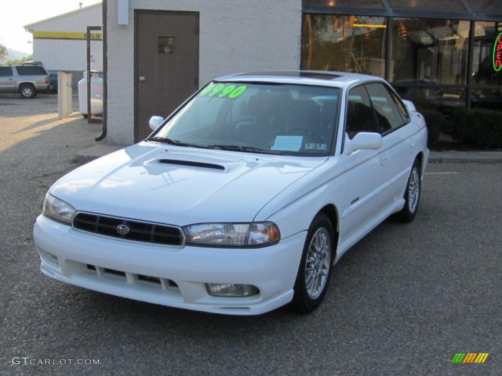1998 glacier white subaru legacy gt limited sedan #35427760 photo