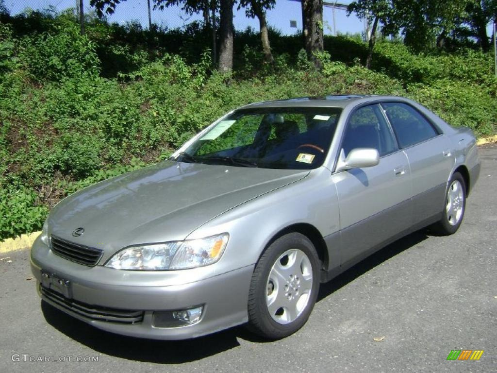 I my 2003 Lexus ES 300. Although she has seen better days now ...