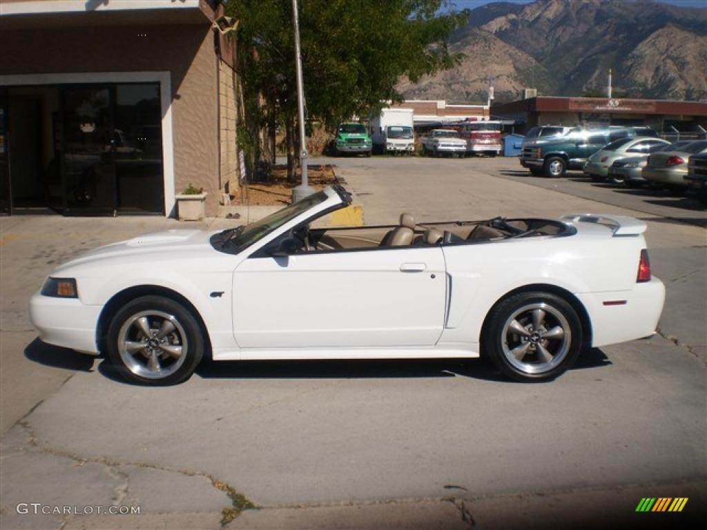 2001 oxford white ford mustang gt convertible 35427961 car color galleries. Black Bedroom Furniture Sets. Home Design Ideas
