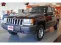 1996 Dark Rosewoood Pearlcoat Jeep Grand Cherokee Laredo 4x4  photo #2