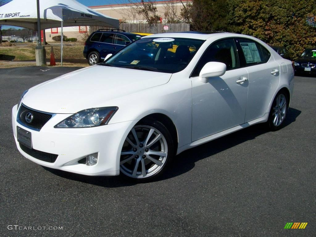 Lexus White Gold Paint Color