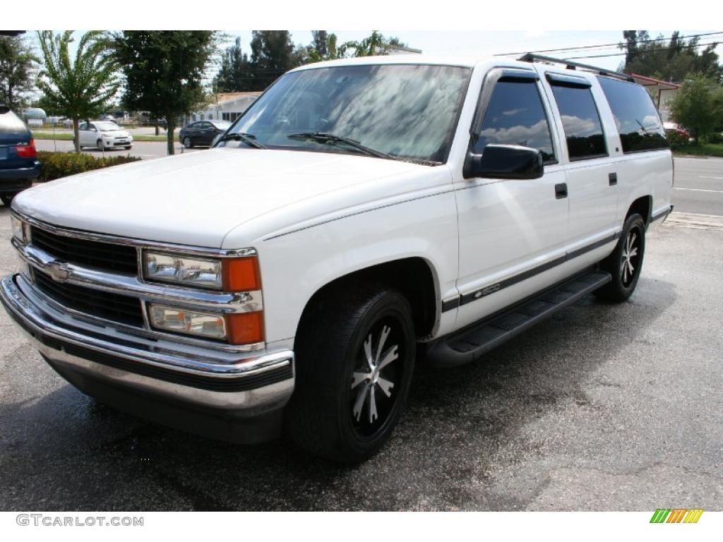 1997 summit white chevrolet suburban c1500 ls 35483875 photo 2 car color. Black Bedroom Furniture Sets. Home Design Ideas