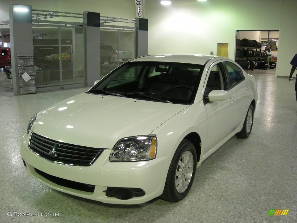 Dover White Pearl Mitsubishi Galant. Mitsubishi Galant ES