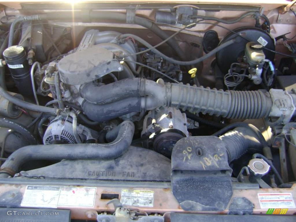 1994 Light Santa Fe Metallic Ford F150 XL Extended Cab ...