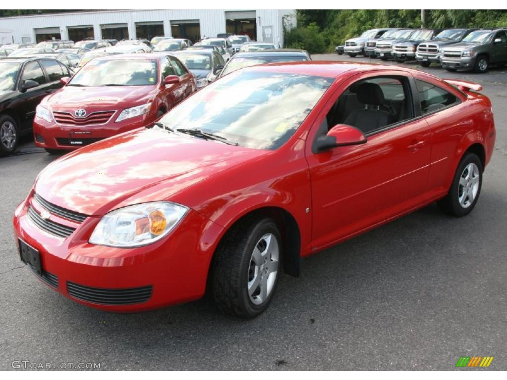 2007 Cobalt LT Coupe - Victory Red / Ebony photo #1