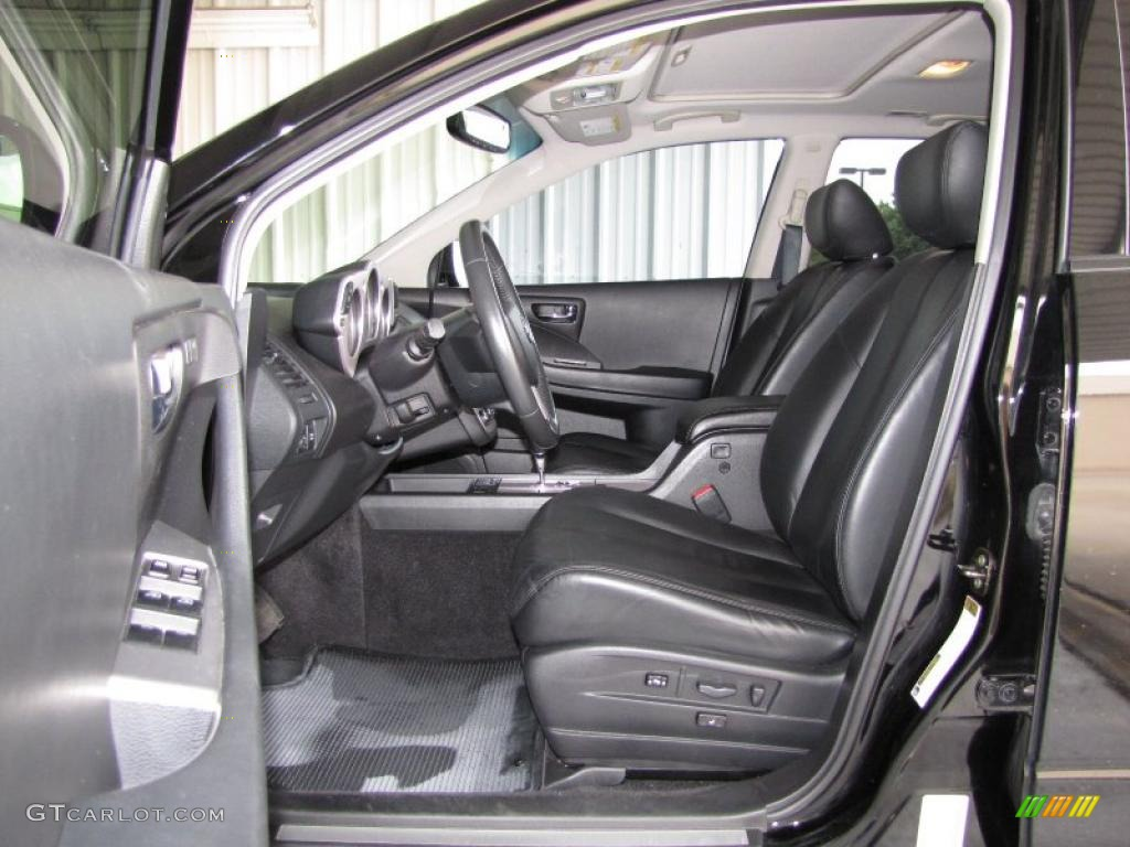 2006 Murano SL - Super Black / Charcoal photo #8