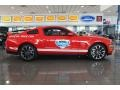 2011 Race Red Ford Mustang GT Coupe Daytona 500 Official Pace Car  photo #2