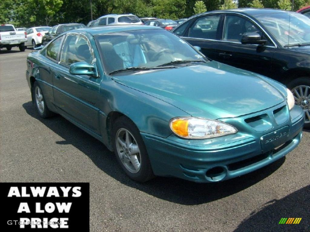 1999 medium green blue metallic pontiac grand am gt coupe 35551151 gtcarlot com car color galleries gtcarlot com