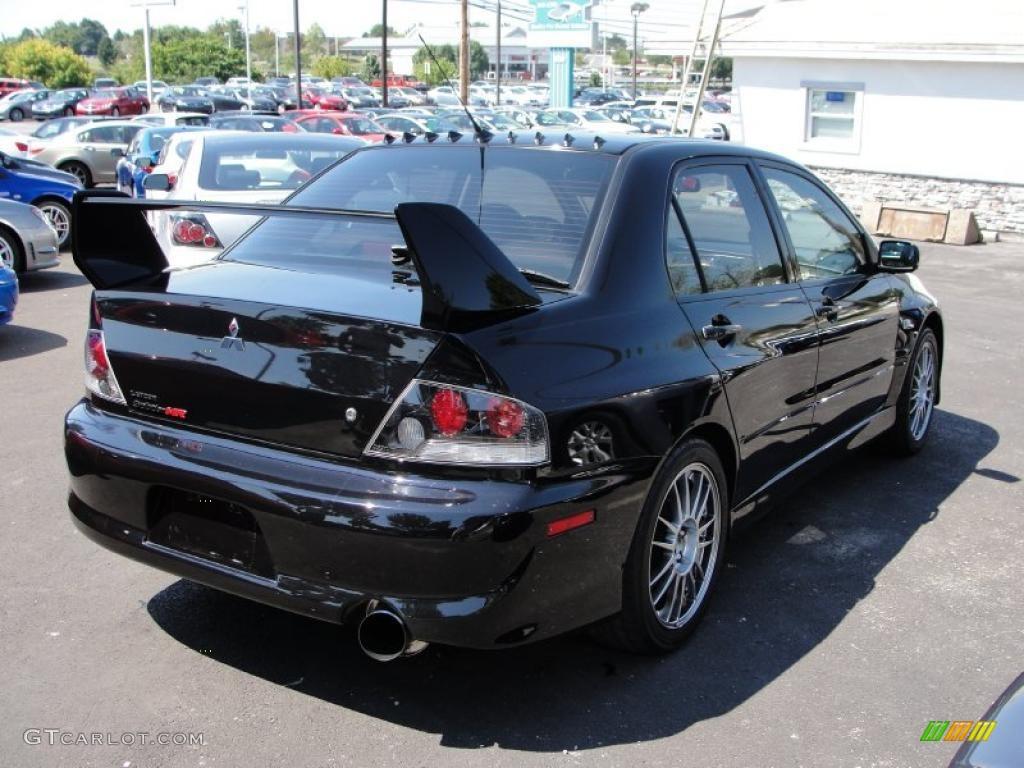 Tarmac Black 2006 Mitsubishi Lancer Evolution Ix Mr