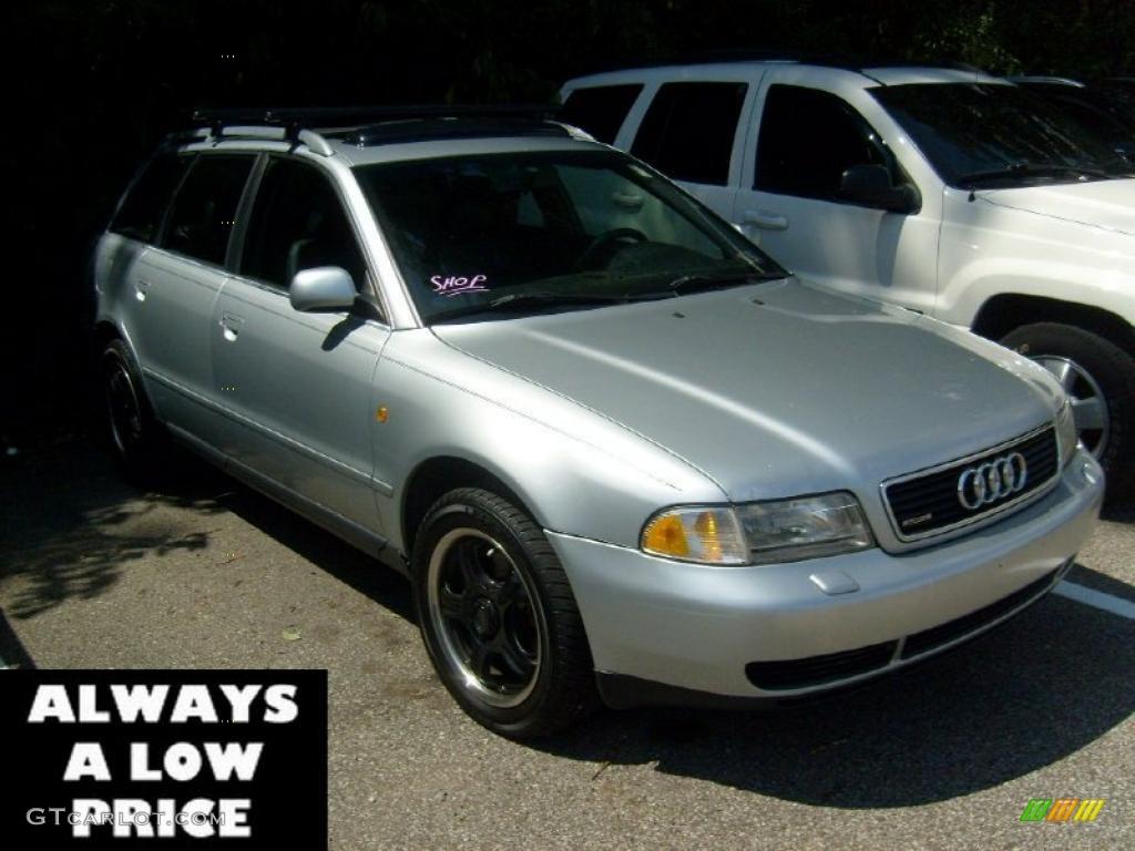 1998 Aluminum Silver Metallic Audi A4 2 8 Quattro Avant 35551289 Gtcarlot Com Car Color