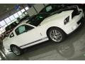 2007 Performance White Ford Mustang Shelby GT500 Coupe  photo #6