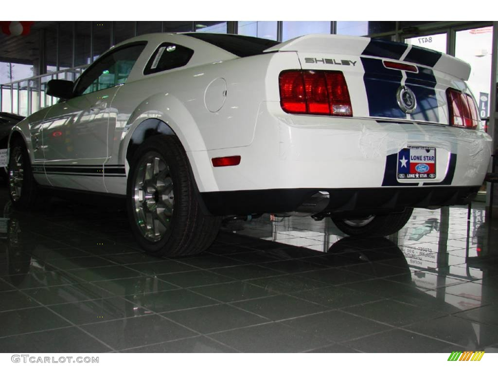 2007 Mustang Shelby GT500 Coupe - Performance White / Black Leather photo #11