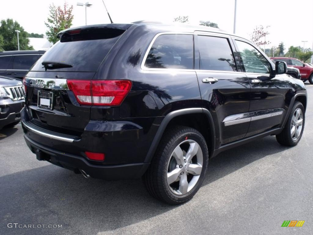 2011 blackberry pearl jeep grand cherokee overland 35552187 photo 3 car color for 2011 grand cherokee interior