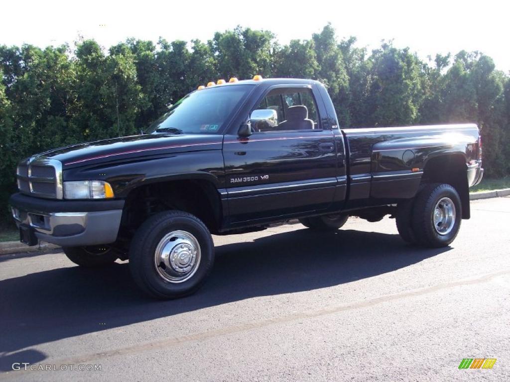 black dodge ram 3500 dodge ram 3500 laramie regular cab 4x4 dually - Dodge Ram 3500 Dually Single Cab