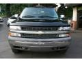 2002 Onyx Black Chevrolet Silverado 1500 LS Extended Cab 4x4  photo #2