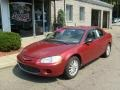 2002 Ruby Red Pearl Chrysler Sebring LX Sedan #35670055