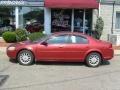2002 Ruby Red Pearl Chrysler Sebring LX Sedan  photo #2