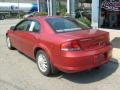 2002 Ruby Red Pearl Chrysler Sebring LX Sedan  photo #3